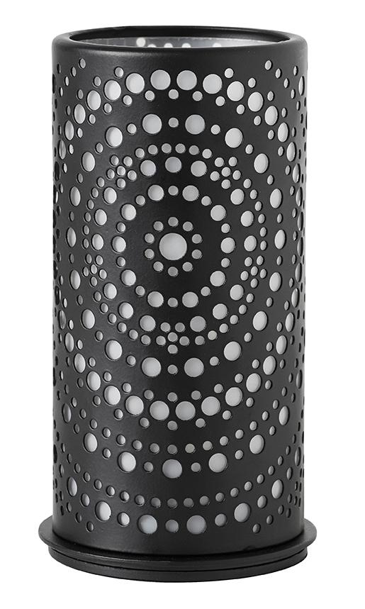 duni kerzenhalter billy metall schwarz 140x75mm 1 st dunishop. Black Bedroom Furniture Sets. Home Design Ideas