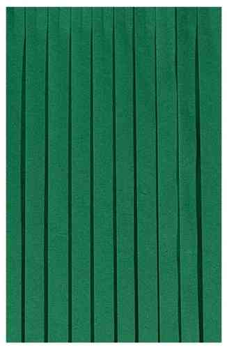 Tableskirting Dunicel dark green 0,72x4,0m 1 piece