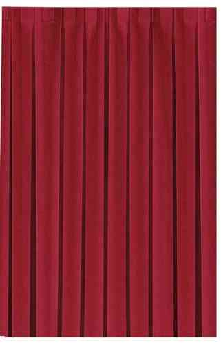 Tableskirting Dunicel bordeaux 0,72x4,0m 1 piece