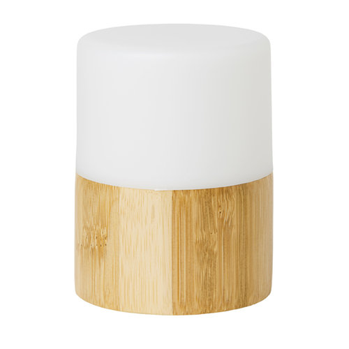 led candle holder Good bamboo Bright 105x75mm 1 p.